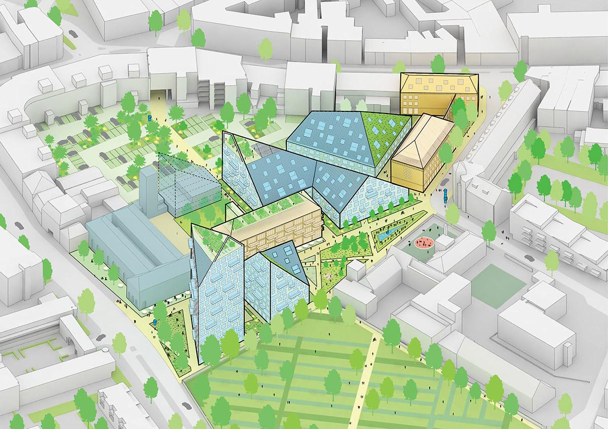 Eindhoven Selects Mvrdv S Nieuw Bergen A Design For