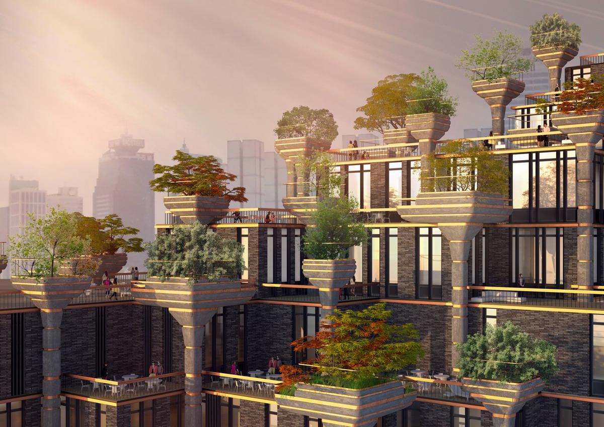 New Home Facade