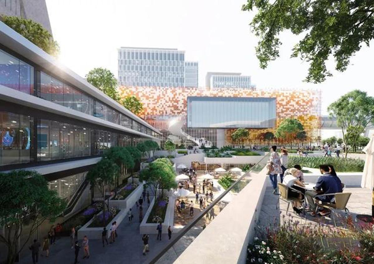 Benoy to deliver Alibaba Jiangsu Headquarters - 品素品设计